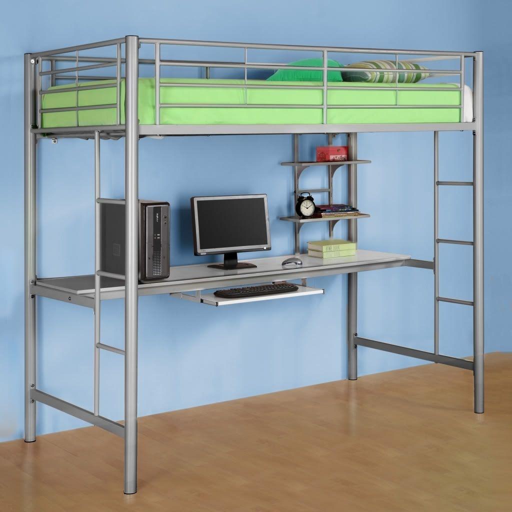 Foter & Metal Bunk Bed With Desk - Ideas on Foter