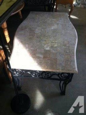 Wrought iron coffee tables for sale 3