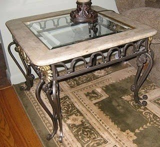 Wrought Iron And Glass Coffee Tables Foter