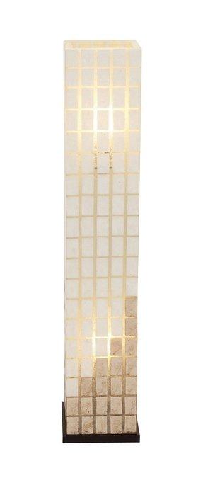 Capiz Shell Floor Lamp Foter