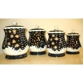 Awesome Ceramic Kitchen Canisters Sets Ideas On Foter Home Interior And Landscaping Ologienasavecom