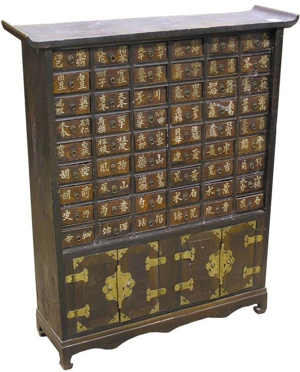 Attirant Cabinet With Many Small Drawers 2
