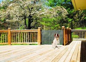 Outdoor Retractable Gate Foter