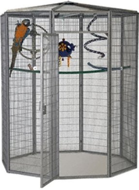 Foot diameter outdoor garden aviary available in 18 different