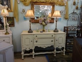Hand painted sideboards buffets