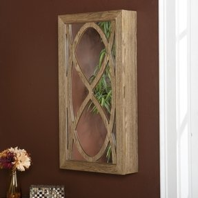 Wall Mounted Jewelry Cabinet With Mirror Ideas On Foter