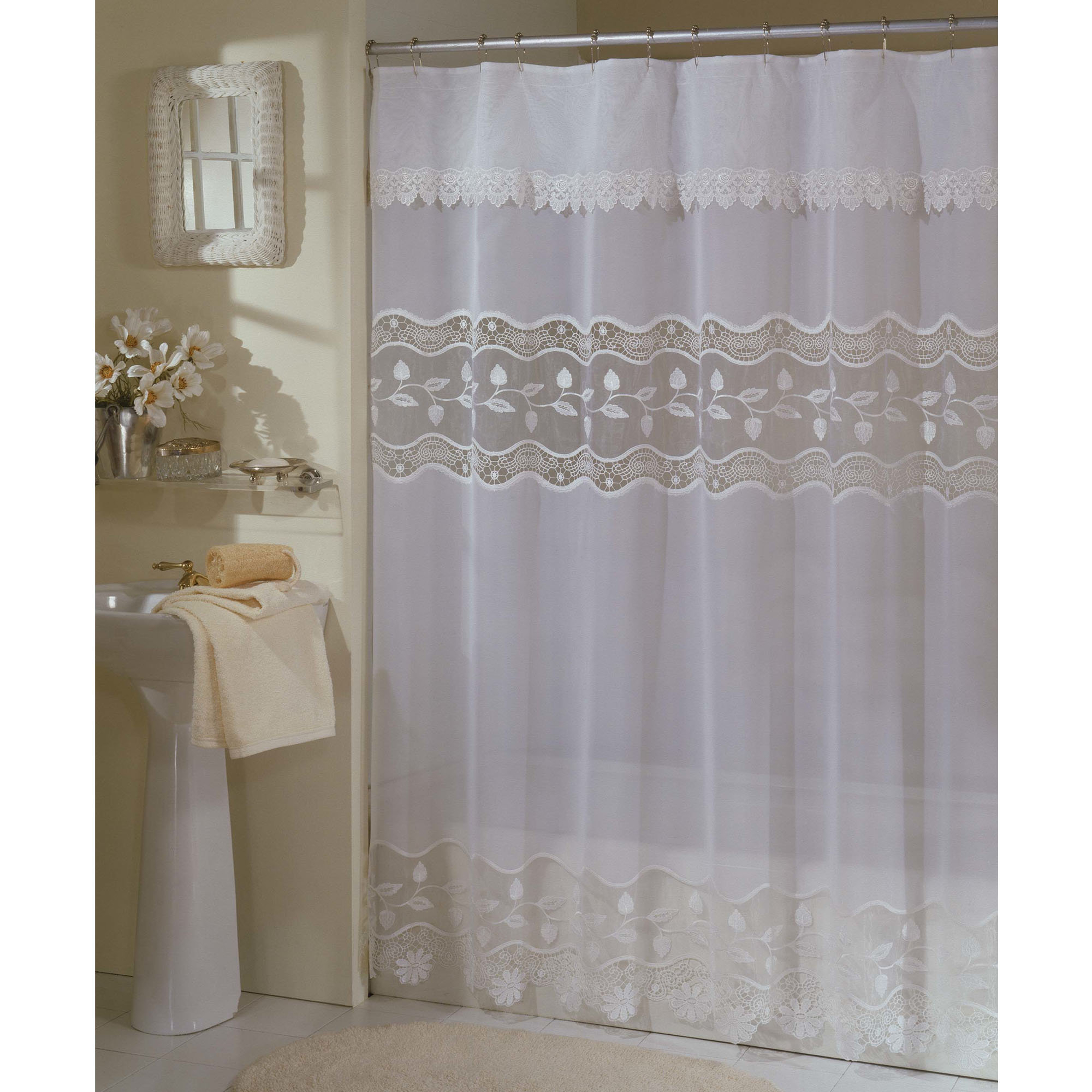 Sheer Shower Curtain