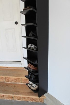 Tall Narrow Shoe Rack Foter