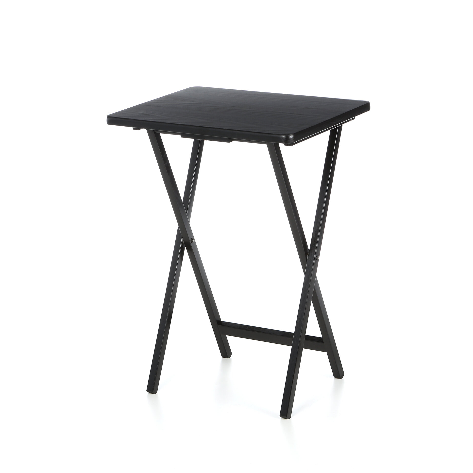 Stand set of 4 folding table for movie dinners snack  sc 1 st  Foter & Folding Snack Tables With Stand - Foter