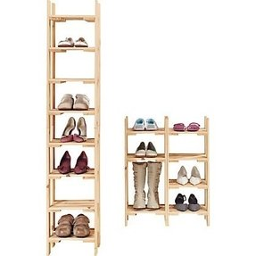 Tall narrow shoe rack 1