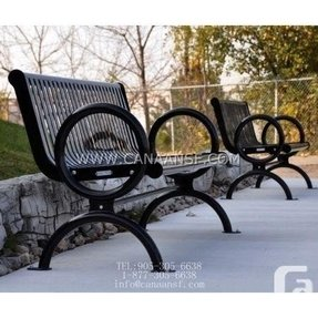 Used park benches