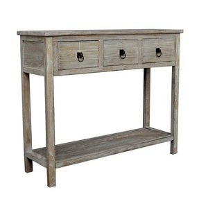 Driftwood console table 6