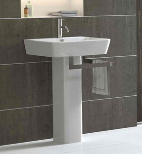 Modern Pedestal Sinks For Small Bathrooms Ideas On Foter