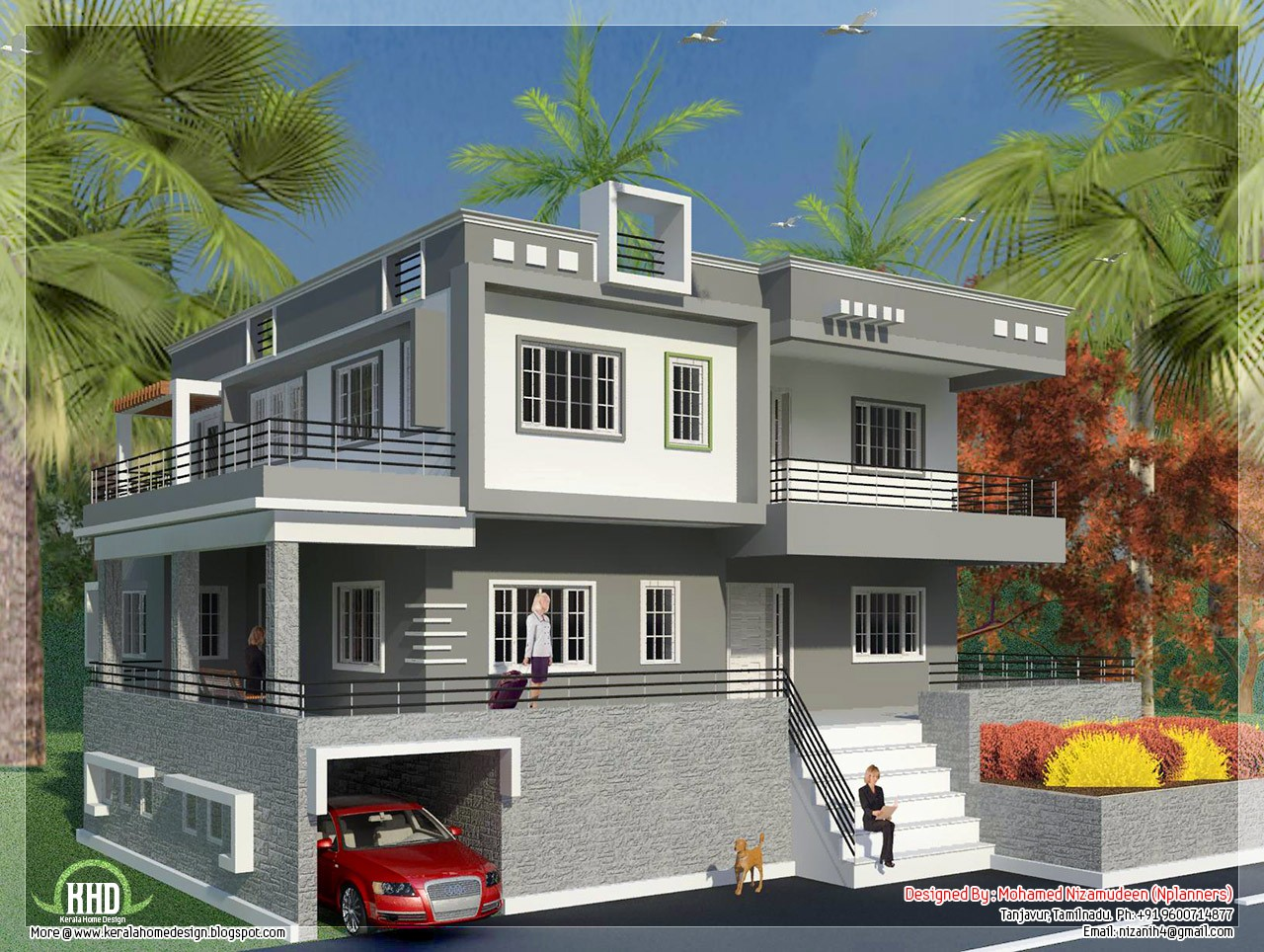 Home Exterior Wall Design Home Designing