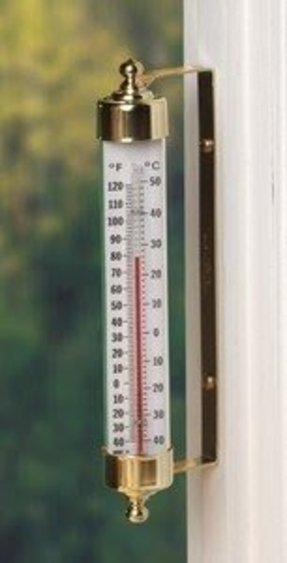 Outdoor Thermometer Decorative Foter