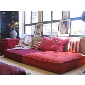Large square floor cushions 1