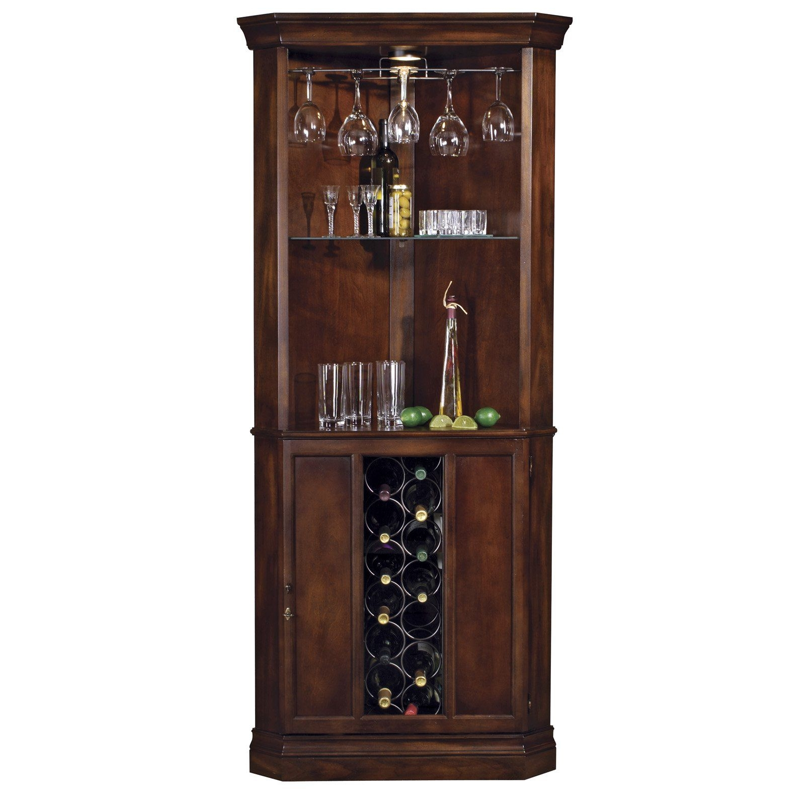Metal Corner Wine Rack 6
