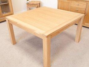 square kitchen table seats 8 foter. Black Bedroom Furniture Sets. Home Design Ideas