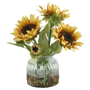 Silk sunflower arrangements 2