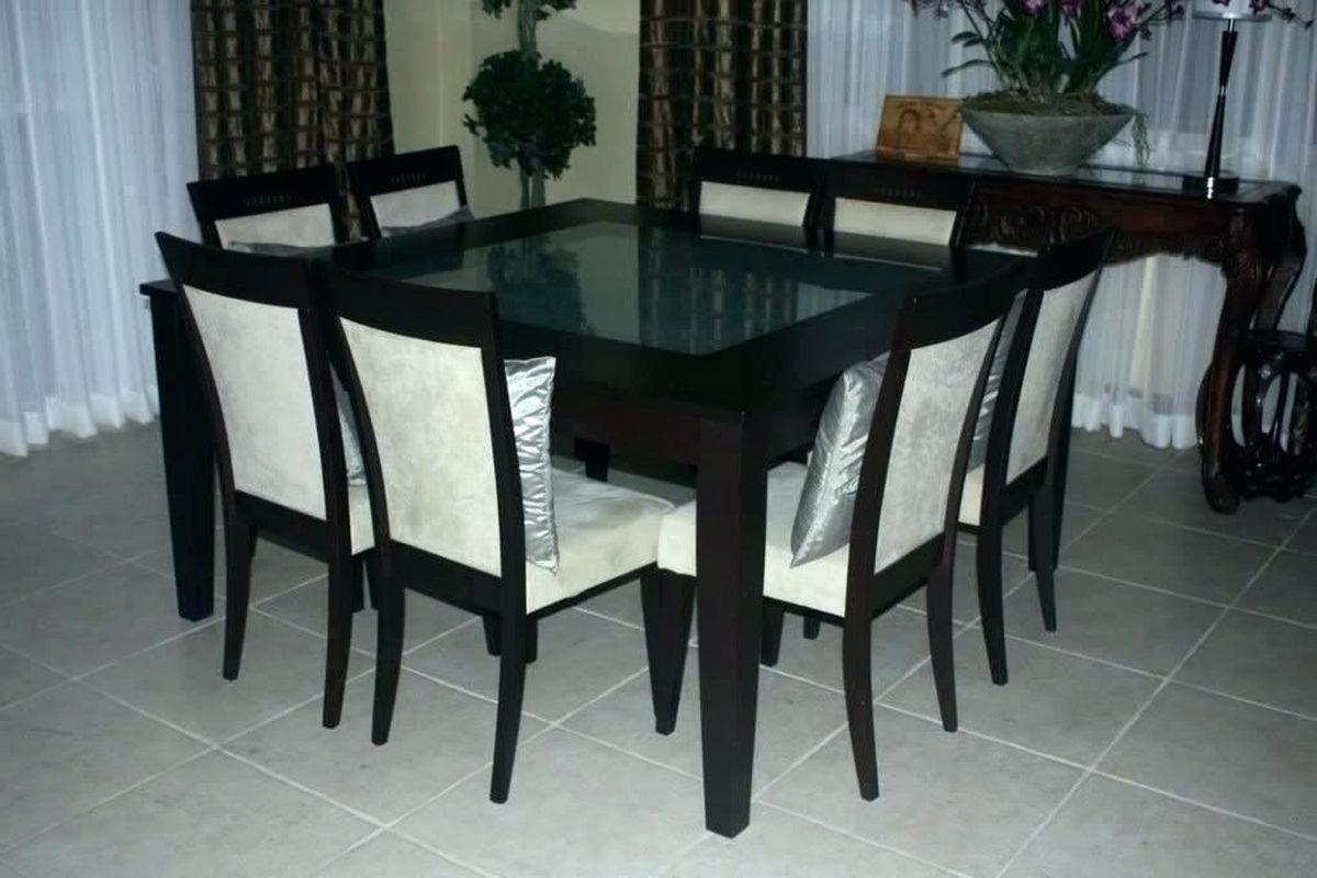 Square Kitchen Table Seats 8