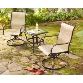 Altamira Tropical 3 Piece Patio Bistro Set