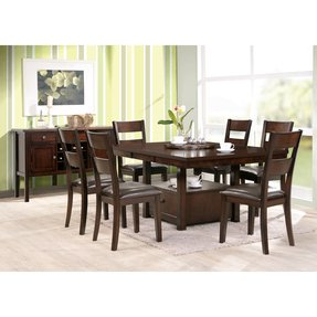 Black square dining table seats ceivbot