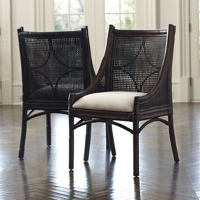 Peachy Cane Dining Chairs Ideas On Foter Ncnpc Chair Design For Home Ncnpcorg