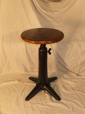 Cast iron stools 1