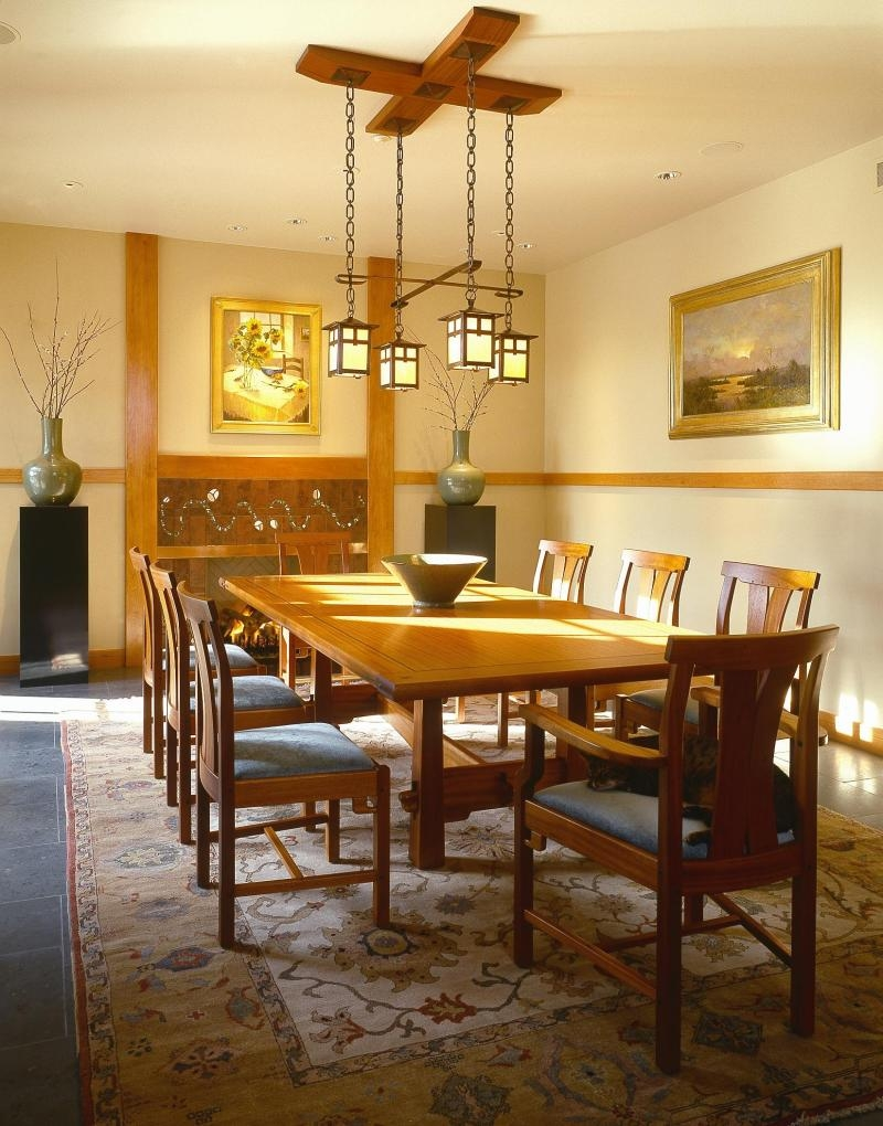 Craftsman Style Dining Table 2