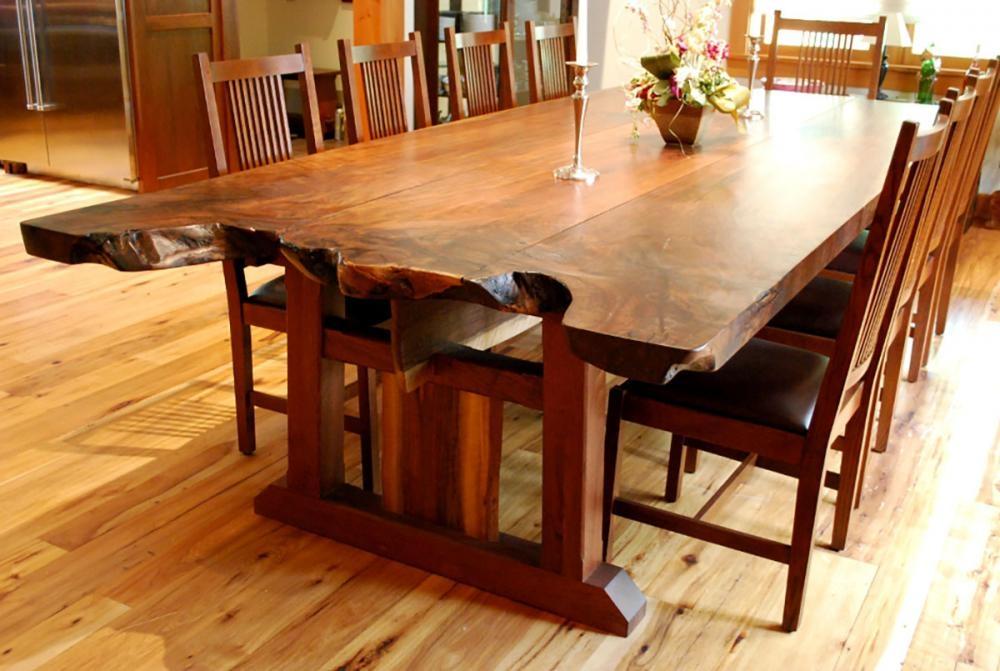Attirant Craftsman Style Dining Table 3