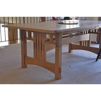 Outstanding Craftsman Style Dining Table Ideas On Foter Download Free Architecture Designs Grimeyleaguecom