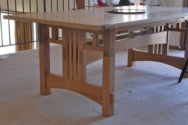 Merveilleux Craftsman Style Dining Table
