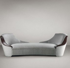 Indoor double chaise