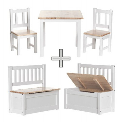 Kids Table And Bench Set - Foter  sc 1 st  xnuvo.com & Cool Childrens Bench And Table Set Photos - Best Image Engine ...