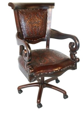Leather desk chairs 1