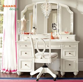 White Makeup Vanities Foter