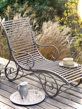 Metal Garden Chairs Ideas On Foter
