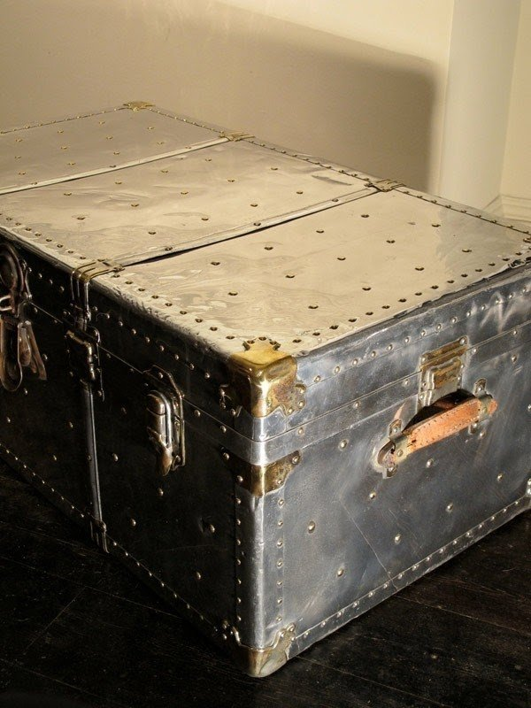 Metal Trunk Coffee Table