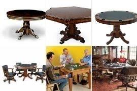 Reversible Poker Table