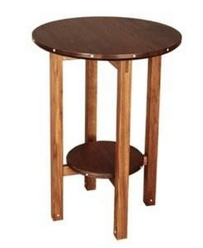 Round Wood End Table Ideas On Foter