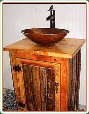Vessel Shiny copper sink CS-0147