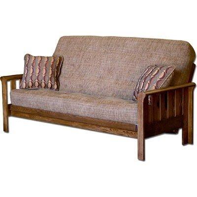 Simmons Brentwood Full Size Sleeper Sofa Tobacco