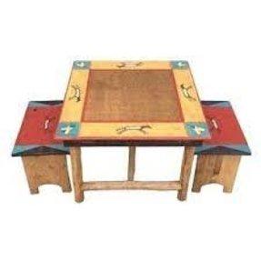 Pleasant Kids Table And Bench Set Ideas On Foter Creativecarmelina Interior Chair Design Creativecarmelinacom