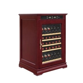 Wine Cooler Constant Temperature Wooden Cabinet Sth