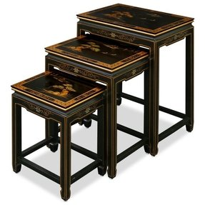 Asian nesting tables 42