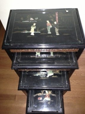 Asian nesting tables 7