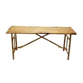 Bamboo folding table 1