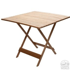 Bamboo folding table 4