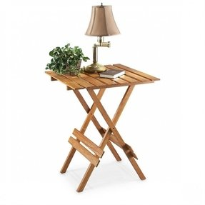 Bamboo folding tables 8
