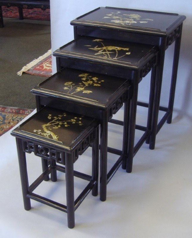 Beau Chinese Nesting Tables   Ideas On Foter